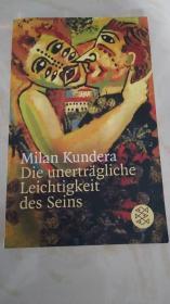德语原版小说 米兰昆德拉 生命中不能承受之轻  Die unerträgliche Leichtigkeit des Seins