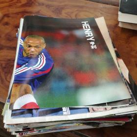 足球俱乐部 ,当代体育,全明星,海报1997-2007年,共102张不同合售大部分是足球俱乐部海报