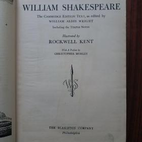 THE COMPLETE WORKERS OF WILLIAM SHAKESPEARE