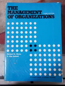 特价~THE MANAGEMENT OF ORGANIZATIONS