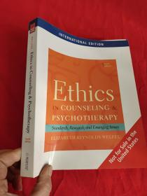 Ethics in Counseling and Psychotherapy: Standards, Research, and Emerging Issues    (16开)【详见图】