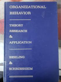 特价~ORGANIZATIONAL BEHAVIOR