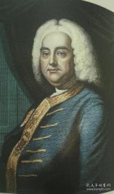 1857年Victor SCHOELCHER - The Life of Handel.著名音乐家传记《亨德尔传》珍贵英译本初版本 配补精美插图