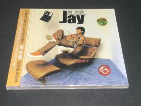 周杰伦 Jay首张同名专辑CD 全新未拆