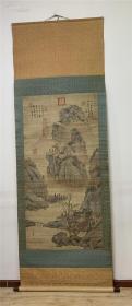 唐代著名画家,吴道子、山水。明朝画家、吴振、和。清代宫廷画家,郎世宁。题跋
