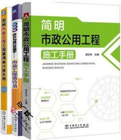 零基础成长为造价员高手 市政工程造价员+图解市政工程工程量清单计算手册 第2版+简明市政公用工程施工手册 造价员专业教材书籍