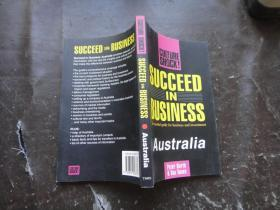 Succeed in Business Taustralia (Culture Shock!) (英语)