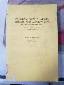 特价:PROGRAM FLOW ANALYSIS : THEORY AND APPLICATIONS