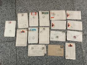 新疆寄出实寄封一批,每一封里面都有信