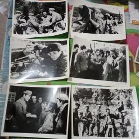 电影剧照老照片六张合售!