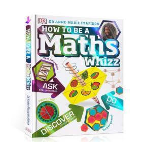 英文原版 如何成为一名数学天才?How to be a Maths Whizz? DK儿童启蒙认知 进口正版亲子教育书籍绘本3-6岁