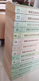 建国以来毛泽东文稿1-13册大全套,未阅书,自然旧,无印章无涂划无批注,9-13为一版一印,其它不等,已经全部上图,请仔细看图,品相自定,有问题可以联系补图