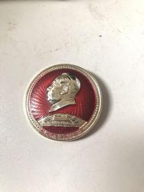 红色收藏毛主席像章