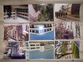 南开大学上世纪80年代校园7吋彩照14张
