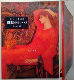 《伯恩-琼斯画集》1993年英文版画册拉斐尔前派著名画家E.Burne-Jones油画名作