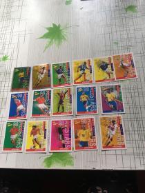 小虎队 球星卡 珍藏版系列 16张合售