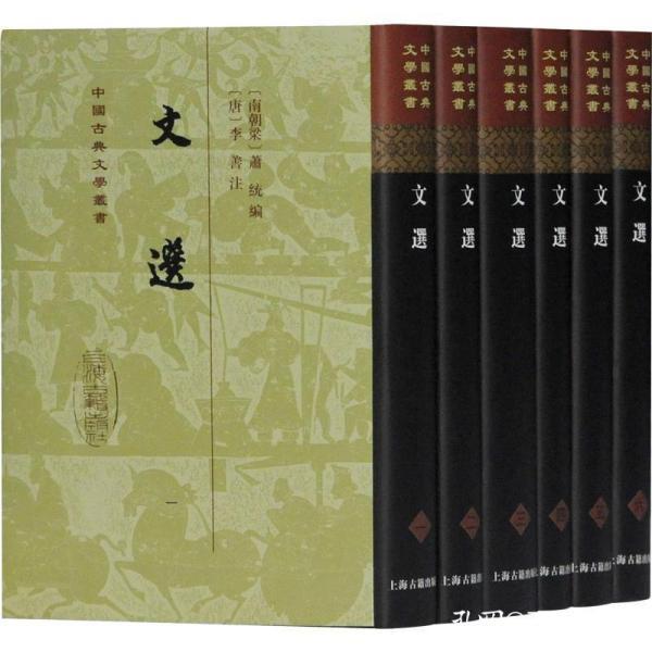 文选(全六册)(精)(中国古典文学丛书)
