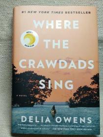 预售沼泽深处美版精装纽约时报畅销书Where the Crawdads Sing