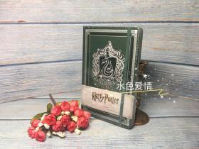 哈利波特斯莱特林原版笔记本Harry Potter Slytherin