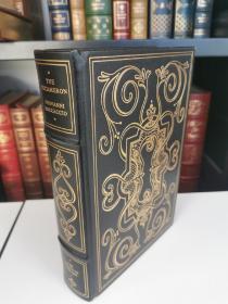 giovanni boccaccio stories from the decameron卜迦丘名著《十日谈》 franklin library 1979年真皮精装 限量版 世界永恒经典100本名著系列丛书之一