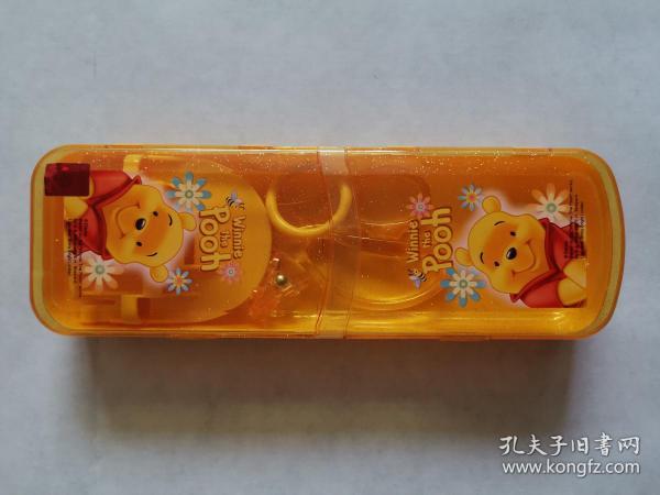 《维尼熊可折叠式文具盒》(迪士尼正版)