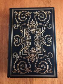 【现货在国内、全国包顺丰、1-3天收到】The Decameron, 《十日谈》,Giovanni Boccaccio / 卜迦丘(著),富兰克林图书馆出版的世界永恒经典100本名著系列丛书之一, 1979年限量版 A Limited Edition(请见实物拍摄照片第4、5张版权页),精装,厚册,738页,豪华全真皮封面,三面刷金,珍贵外国文学资料 !