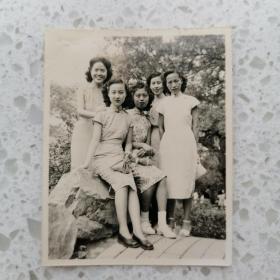 民国美女旗袍老照片