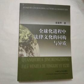 全球化进程中法律文化的同构与异质.
