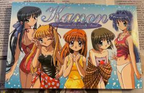 日版 难忘的花园明信片本  Kanon Co-Memorable Cards Book カノン メモラブル・カード・ブック02年初版绝版不议价不包邮