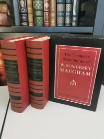 The Complete Short Stories of Somerset Maugham 《毛姆短篇小说全集》  全两卷 布面精装版