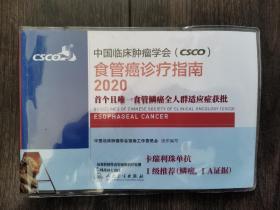 中国临床肿瘤学会 食管癌诊疗指南(2020)
