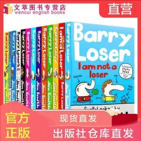 Barry Loser失败者巴里系列13册I am not a loser英文原版儿童幽默搞笑故事书 励志校园漫画文学 获罗尔德达尔趣味童书奖Jim Smith