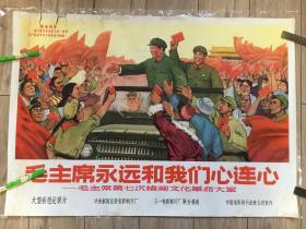对开........光辉的榜样伟大的创举----毛主席第八次检阅文化革命大军
