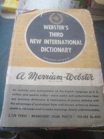 新韦氏国际英语大辞典 第三版)英文版