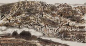 【保真 特惠】中美协会员 公安美协理事 赤峰美协副主席 王居龙 六尺整张山水6