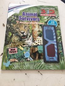 Animal Survivors(3D,附3D眼镜)