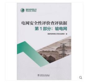 2019年版本 电网安全性评价查评依据 第1部分:输电网 电力出版社