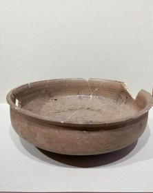 良渚文化高古瓷盘残件标本