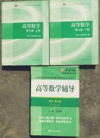 高数同济第七版 高等数学第七版上下册 同步辅导及考研复习用书