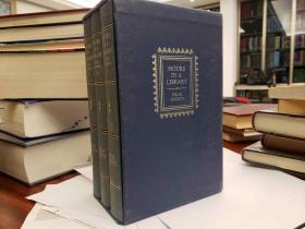 Hours In A Library (3 Volume Set With Slipcase)