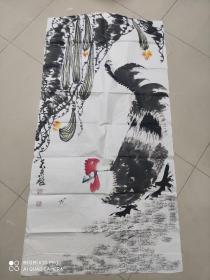 山东著名画家 吴东魁作品 八平尺