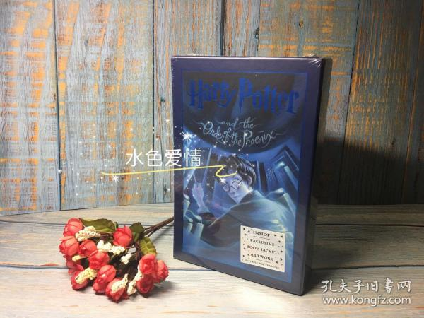 Harry Potter and the Order of the Phoenix (Deluxe Edition)  哈利波特与凤凰社 英文原版