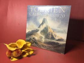 托尔金官方2020年日历 艾伦李插画TOLKIEN CALENDAR 2020
