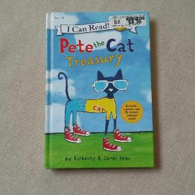 i can read pete the cat treasury(ages4-8)精装
