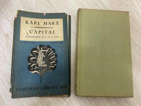 karl marx capital 1951 精装 马克思 资本论