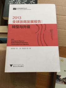 全球浙商研究丛书:2013全球浙商发展报告(转型与升级)