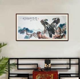 齐白石入室弟子石父刘永泰四尺整张精品