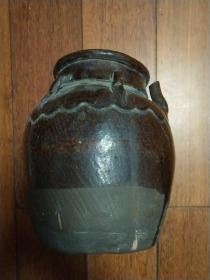 民国或早期:陶器水壶【好象带田间用】【倒水口为什么这么高,前人的科学设计】