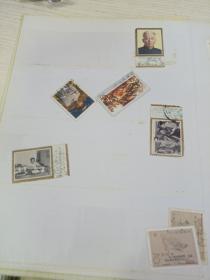 旧邮票一组多张合售