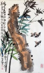 【保真】安徽省美术家协会员、《中华国风文艺》执行主编、实力画家方玉毛精品 花鸟